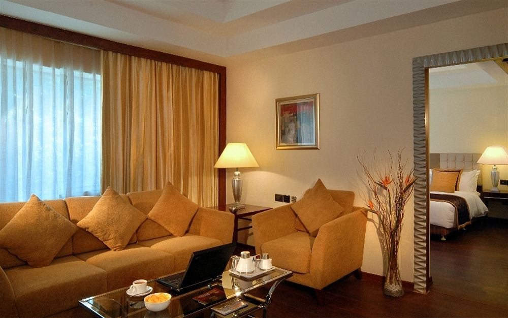 guest room in Fortune Select JP Cosmos, Bangalore