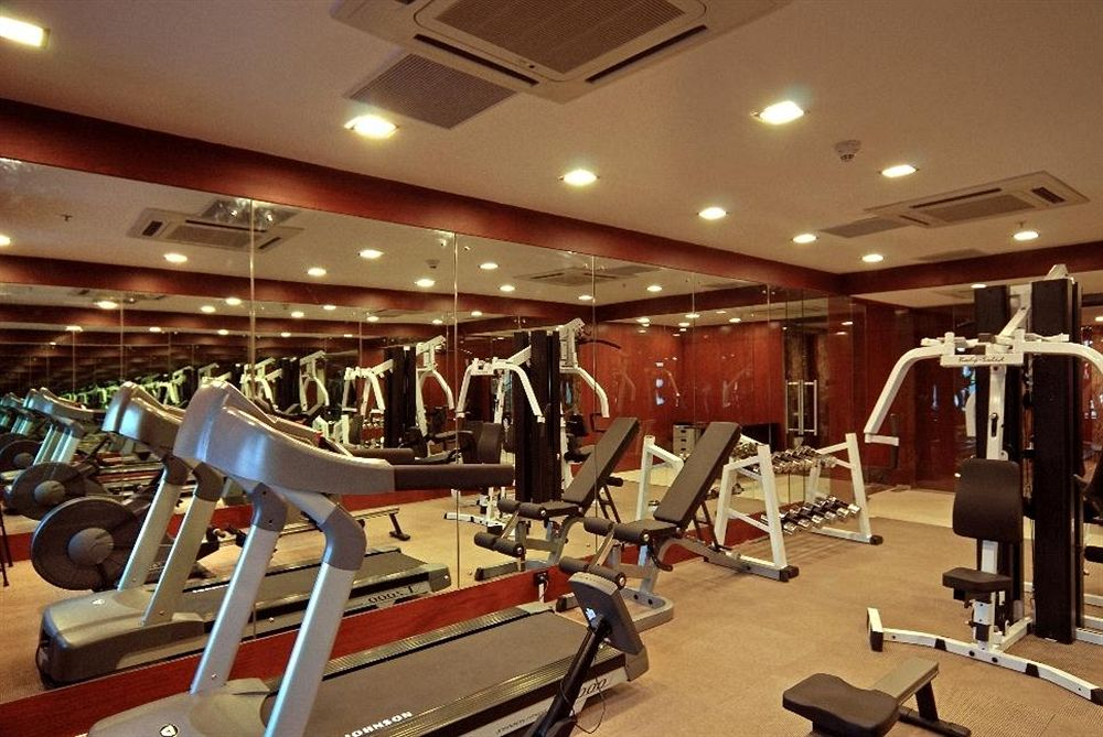 Gym in Fortune Select JP Cosmos, Bangalore