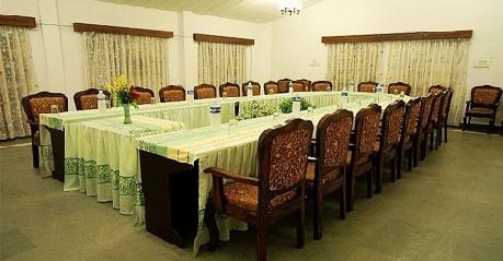 Meeting in Glen View Hotel, Pachmarhi