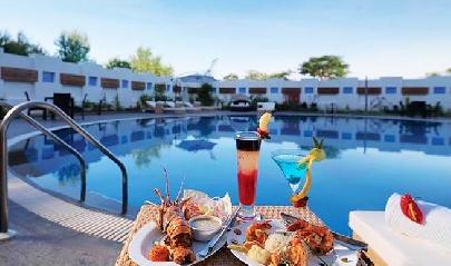 swimming-pool in Goldfinch Retreat Bangalore