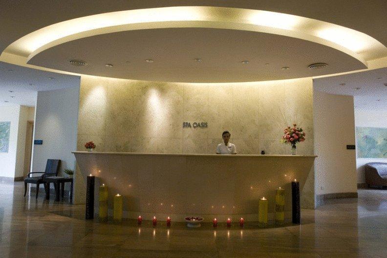 Reception in Hotel The Grand, New Delhi