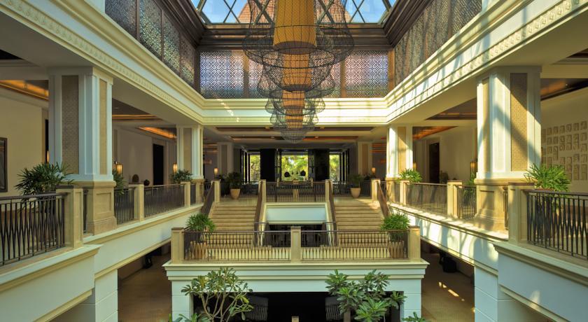 Reception in Hotel Grand Hyatt Goa