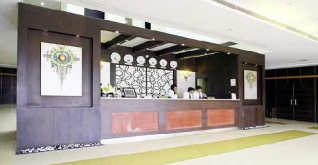 Reception in Haailand Resorts & Theme Park