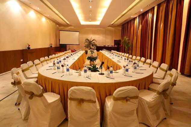 Meeting in Hilltone Hotel, Mount Abu