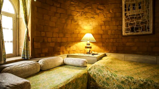 Standard rooms in Hotel Himmatgarh Palace