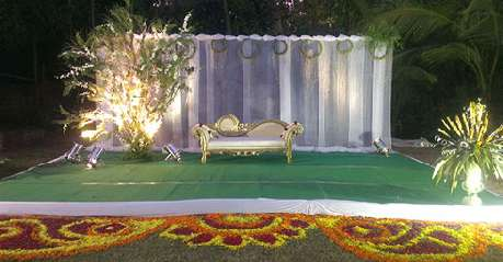 Reception in Hotel Holiday Village Bangalore