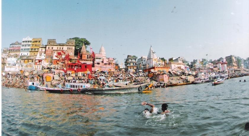 Varanasi lake in Hotel Alka