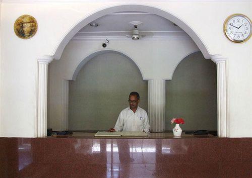 Reception in Hotel Buddha, Varanasi