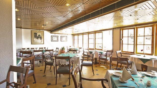 Dining in Hotel Combermere, Shimla