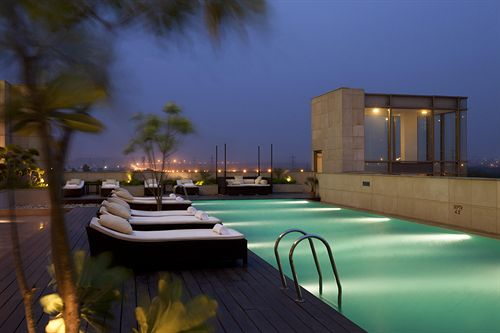 Luxury Swimming in Hotel Crowne Plaza Okhla New Delhi