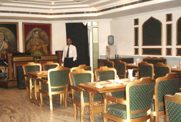 Dining in Hotel Deep Palace