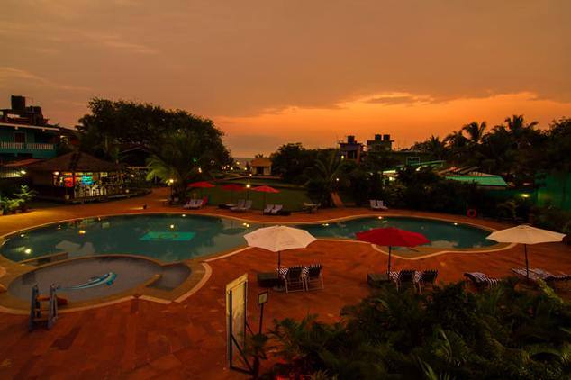 Hotel La Calypso Resort , North Goa - Indian Holiday