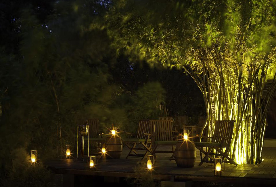 the-serai-kabini-garden-dinner-light