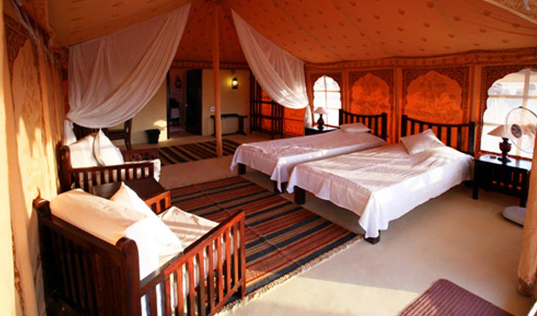 Luxury Tents in Wilderness Camp