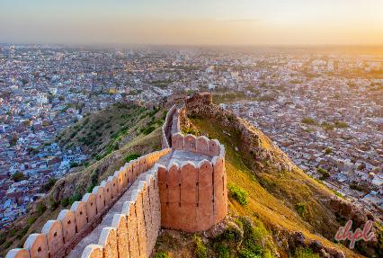 Panoramic View of Jaipur City