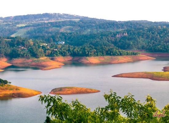 Shillong City in Meghalaya