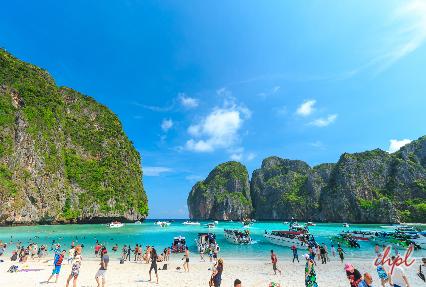 Maya Bay  beach