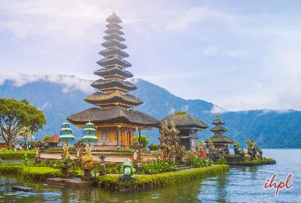 Pura Ulun Danu Bratan Hindu temple in Indonesia