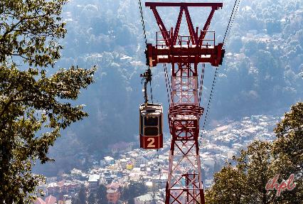 cable ride at Nainital
