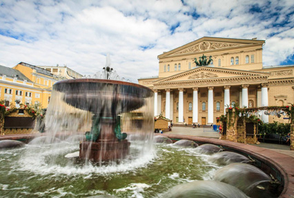 bolshoi theatre at moscow