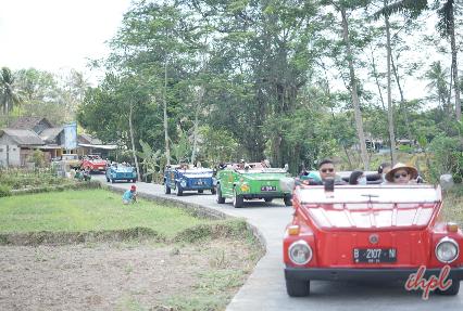 Bali scenic exploration