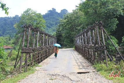 hanging bridges Pasighat