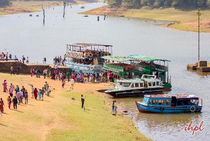 Periyar Lake in Kerala