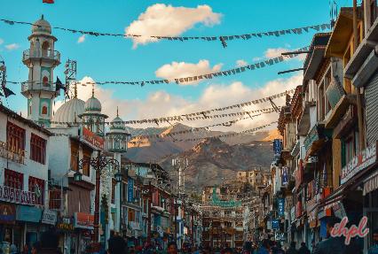 Local Bazaars of Leh