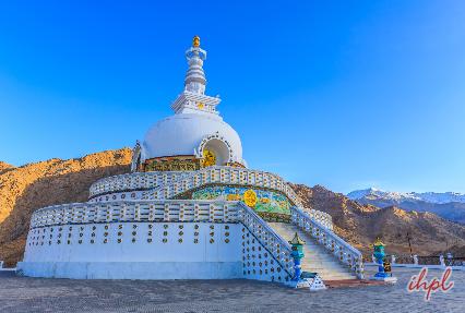 Shanti Stupa inLadakh