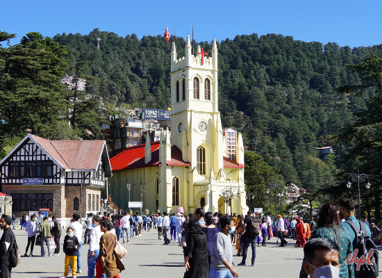 Mall Road,Shimla