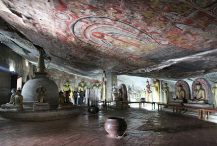 Dambulla cave temple Temple Sri Lanka