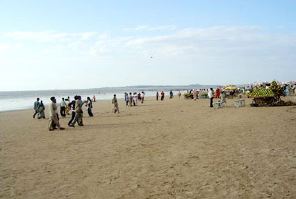 silver beach near juhu