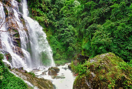 Kanchenjunga waterfalls