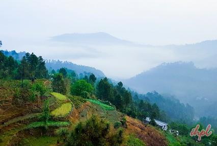 Kausani Hill Station in Uttarakhand