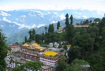 view of darjeeling