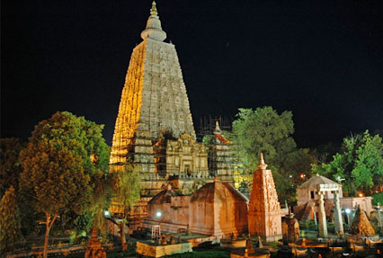 Buddhist Temple With East India Tour India