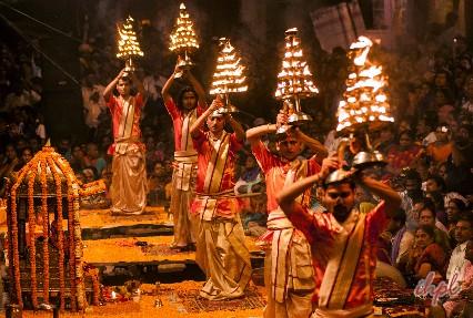 river Ganga in Varanasi