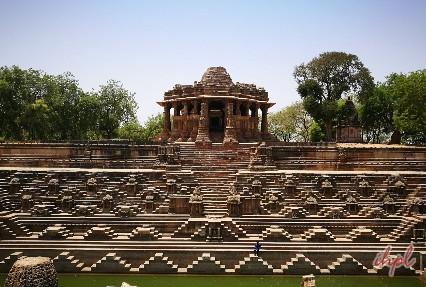 Sun Temple Historical landmark in Modhera
