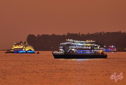 Mandovi River in Goa