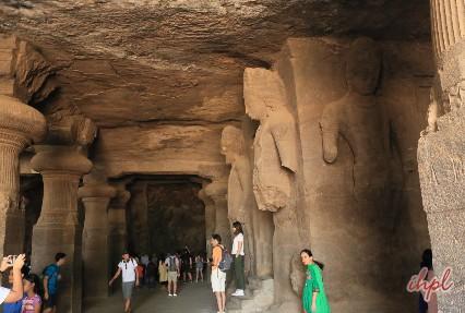 Elephanta Caves in Maharashtra