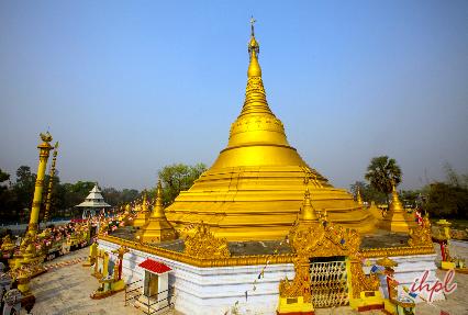Lumbini Temple in Nepal