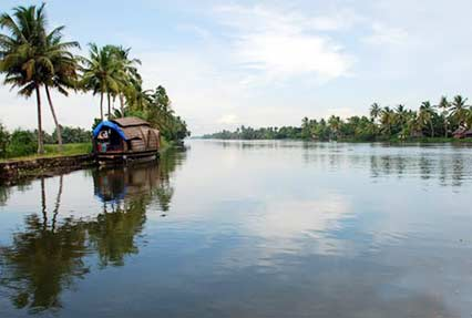 Backwater Tour in Kerala