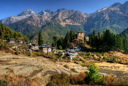 Drukgyal Dzong Museum in Bhutan