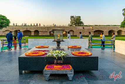 raj ghat , gandhi memorial