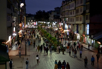 Nightlife at Gangtok