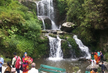 waterfall in gangtok