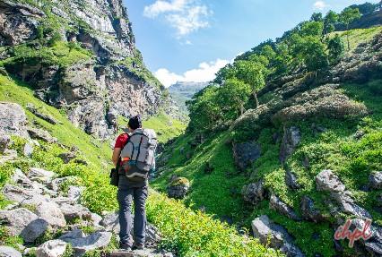 Patalsu Peak Solang, Valley