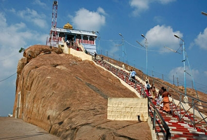 Rock Temple in South India