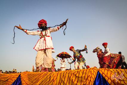 rajasthan  ghomar dance culture