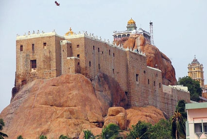 Rock temple, South India